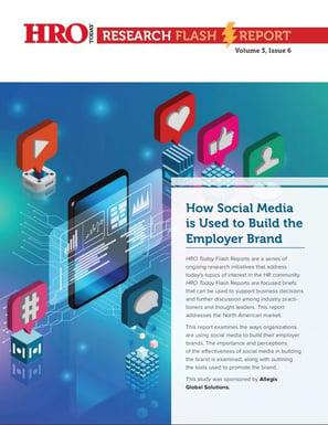 HRO Today Report - how social media