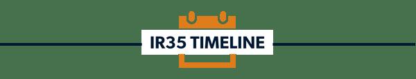 ir35 timeline divider